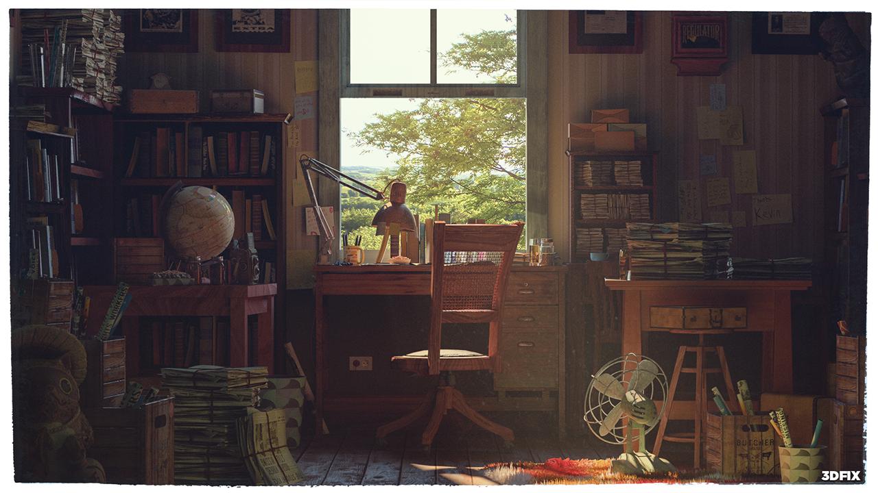 Blender3D Artwork, Devgam