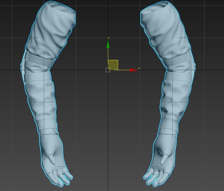Unity 5 уроки - анимация и риггинг FPS рук (Создание игры)