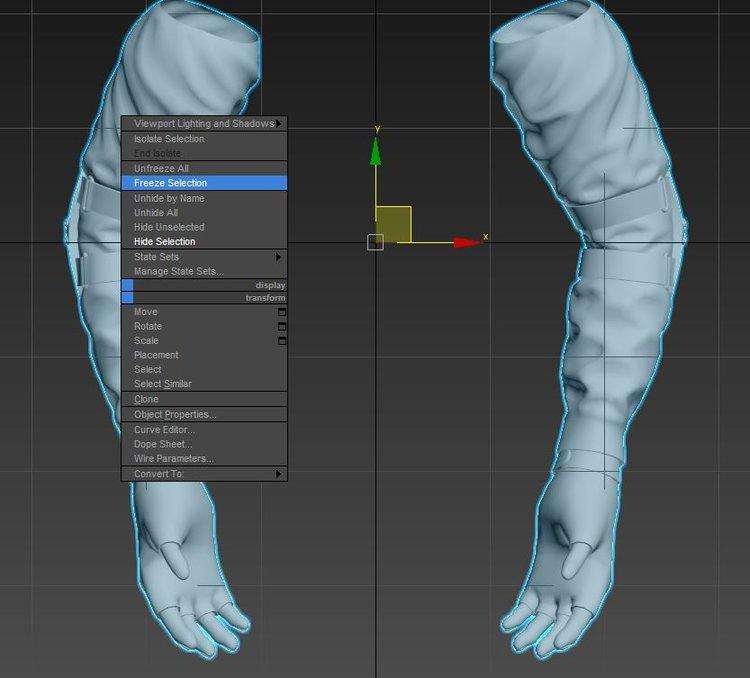 Unity 5 уроки - анимация и риггинг FPS рук (Создание игры) Изображение 3