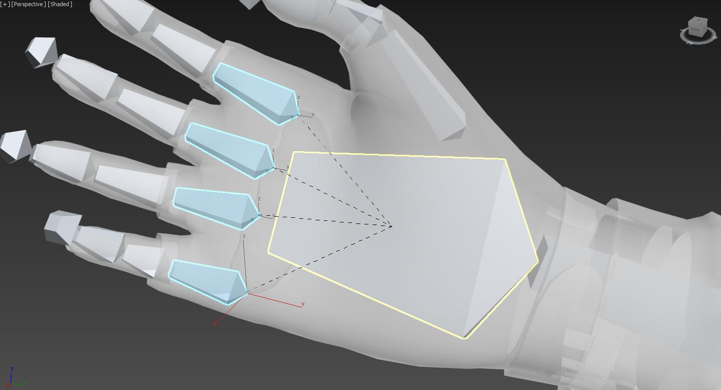 Unity 5 уроки - анимация и риггинг FPS рук (Создание игры) Изображение 8