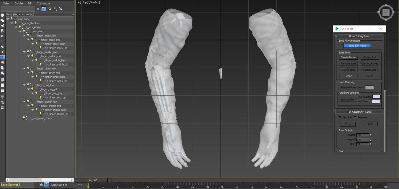 Unity 5 уроки - анимация и риггинг FPS рук (Создание игры) Изображение 14