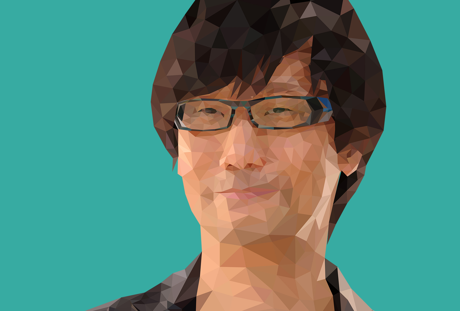 Low Poly Hideo Kojima - Лоу Поли Хидео Кодзима