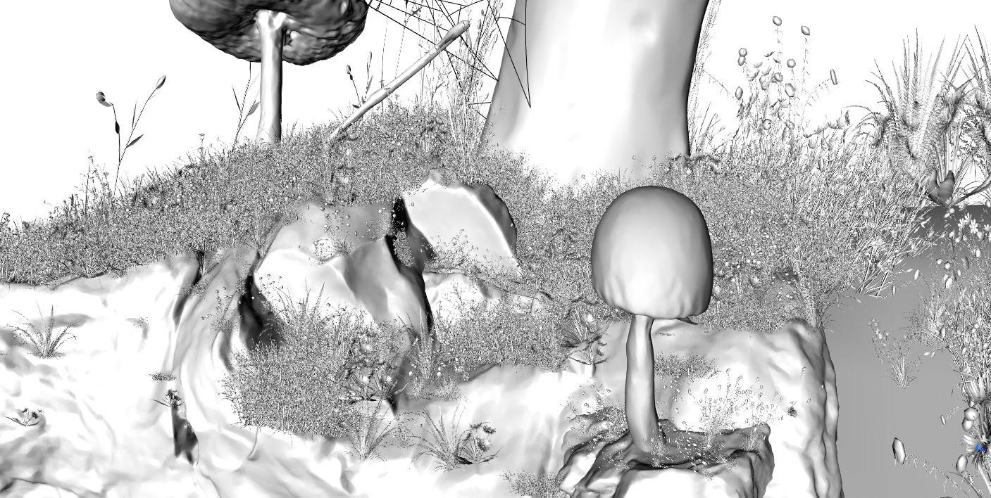 Мегасканы в Синема 4D урок от Александра Мальцева