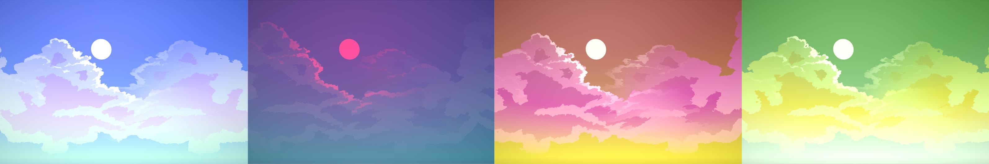Skybox shader Unity V