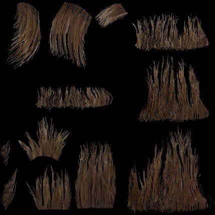 Текстура волос - Diffuse