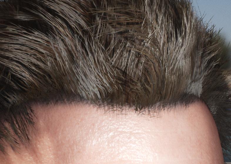 Как создать волосы в Unreal Engine 4