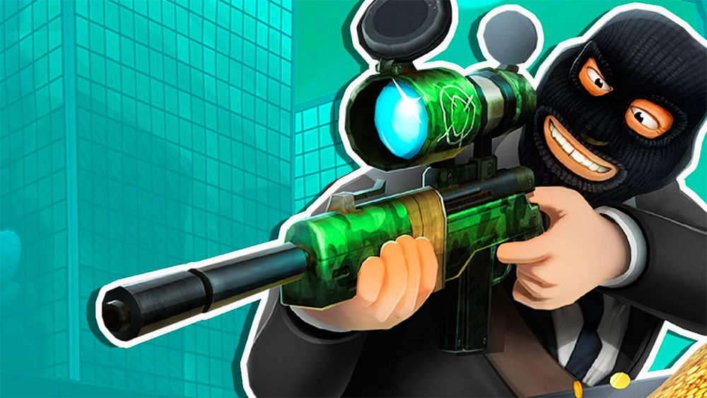 snipers vs thieves - best ios apps and games