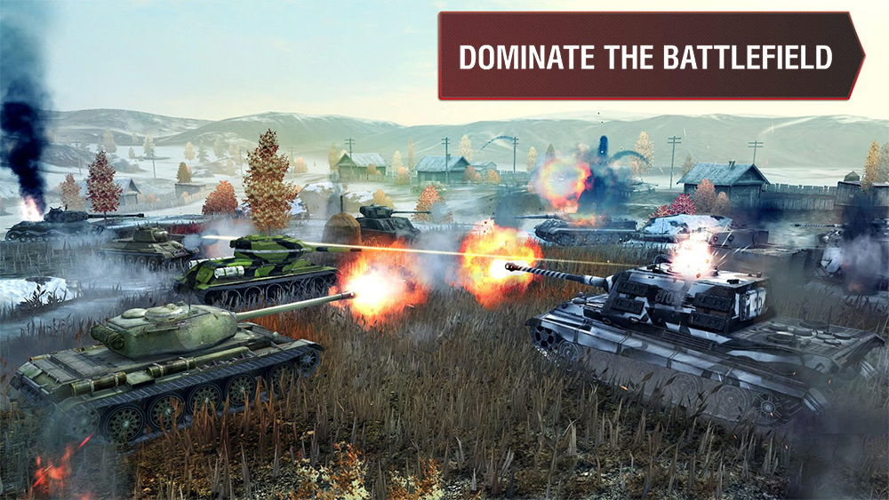 world of tanks blitz - лучшие игры ios