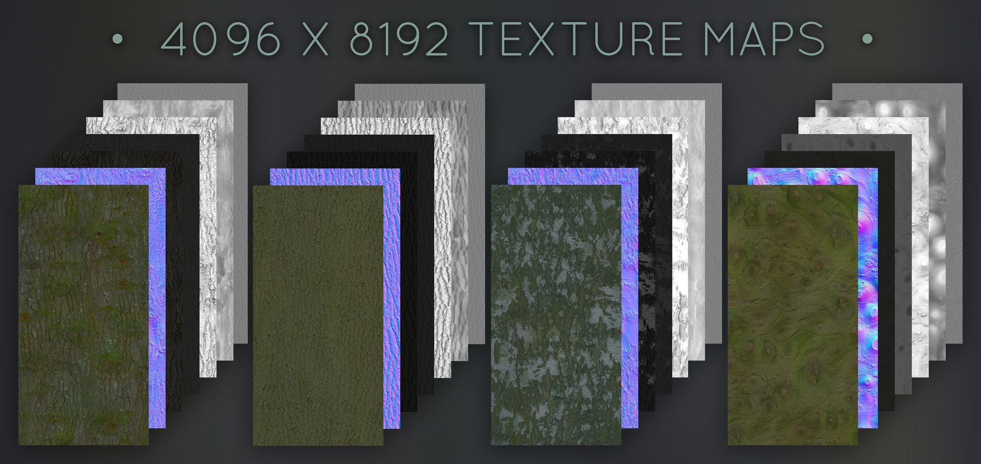 PBR textures wood