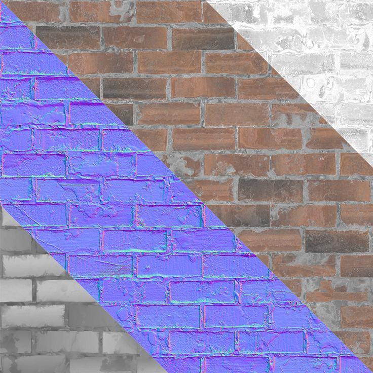 Бесплатный материал кирпичной стены - изображение 1