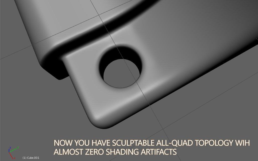 Решение проблемы с артефактами в Blender 3D (Бледнер 3Д)