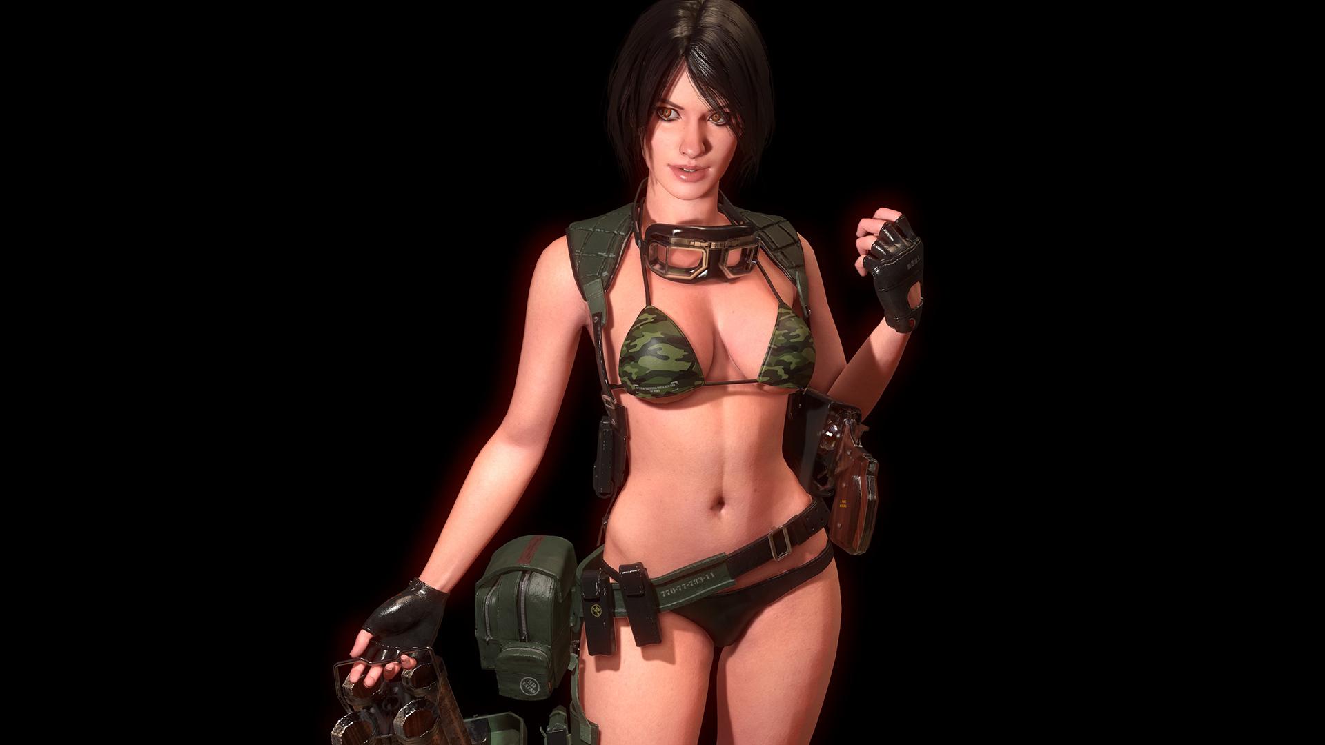 Процесс создания 3D модели девушки