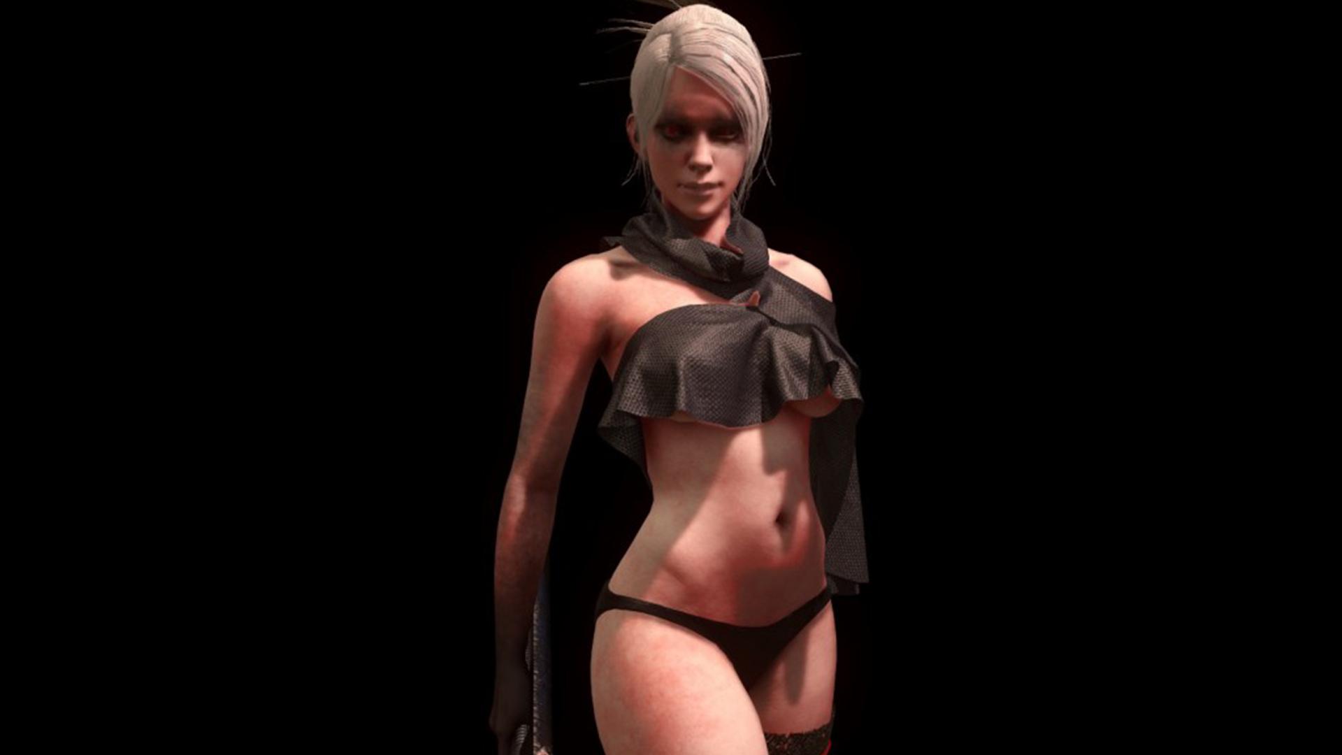 девгам создание 3д модели девушки