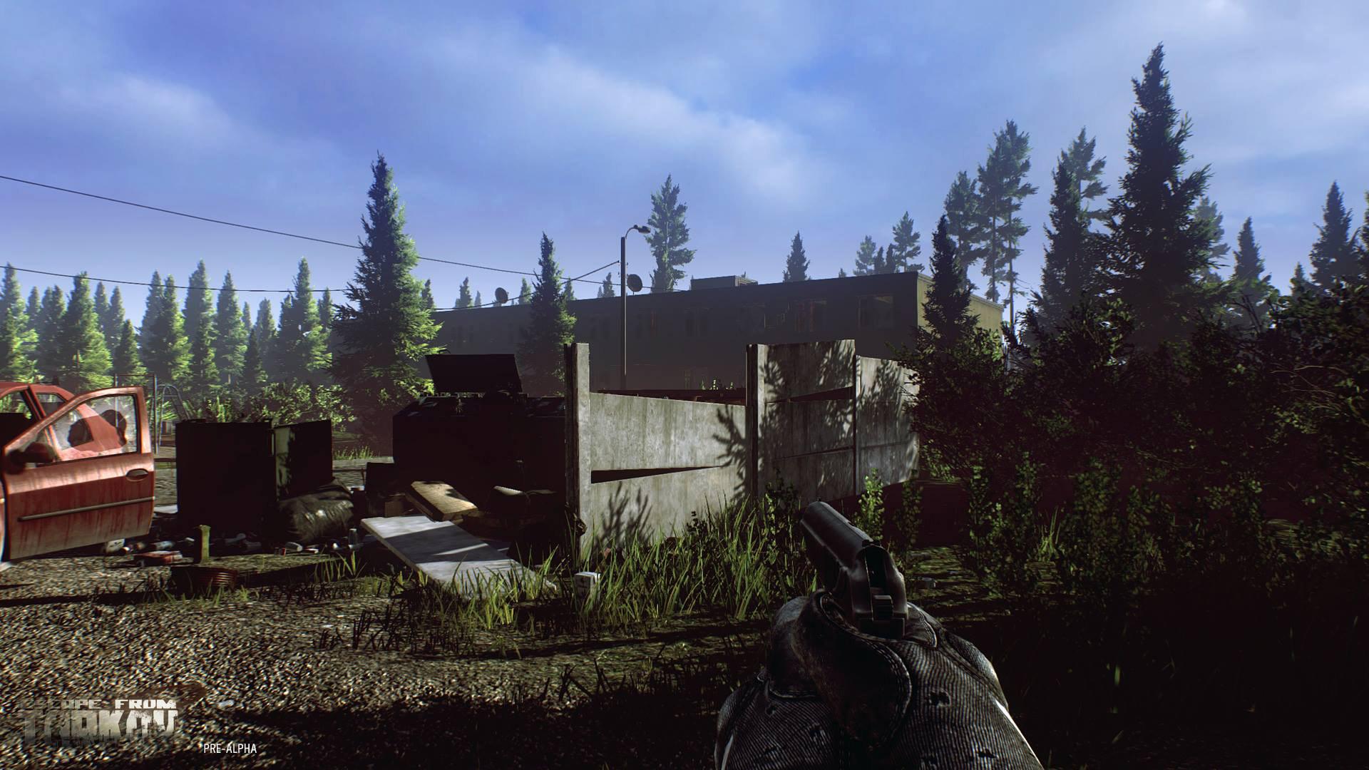 обзор игры escape from tarkov