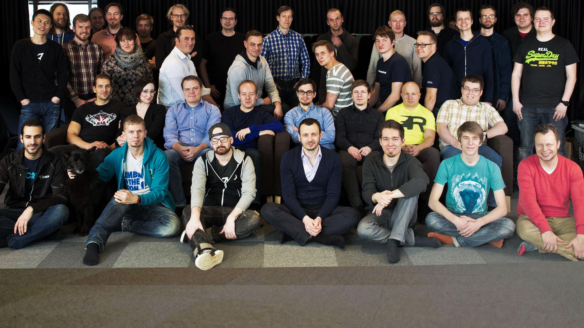 Команда Unity в офисе Unity Finland - Devgam.com