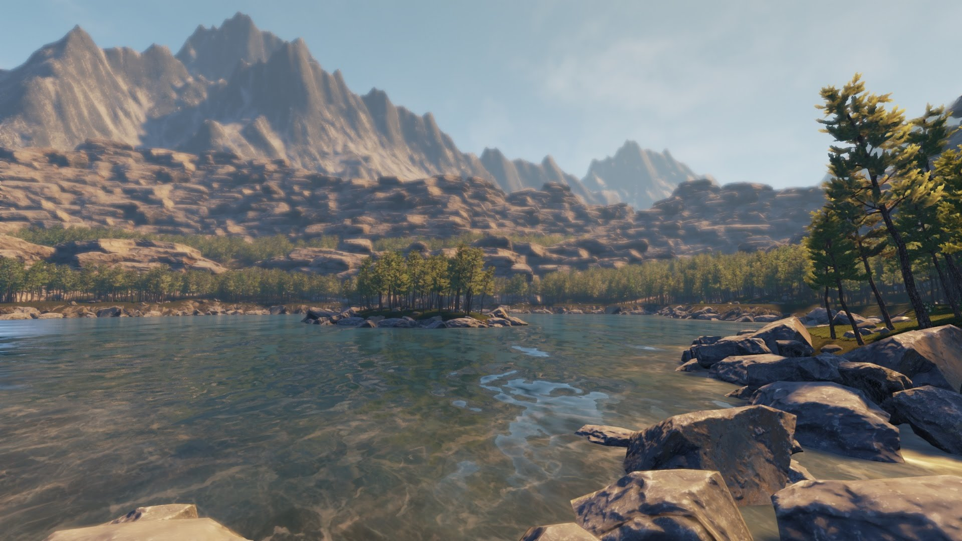 unreal engine 4 hd environment