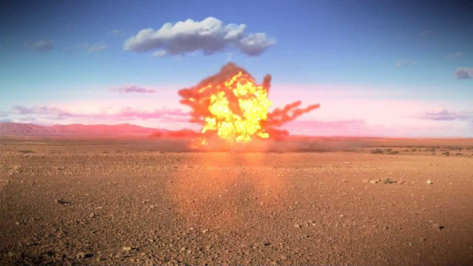 взрыв в blender3d, урок, видеоурок, devgam.com
