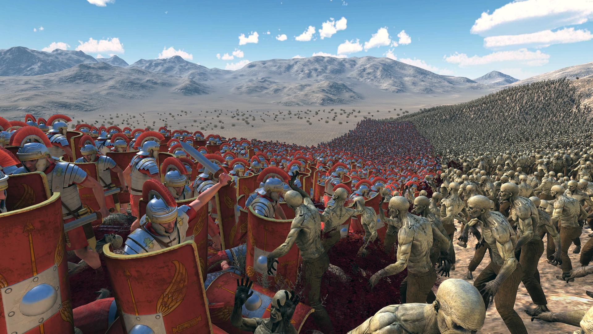 Ultimate Epic Battle Simulator - игра с неограниченным количеством юнитов