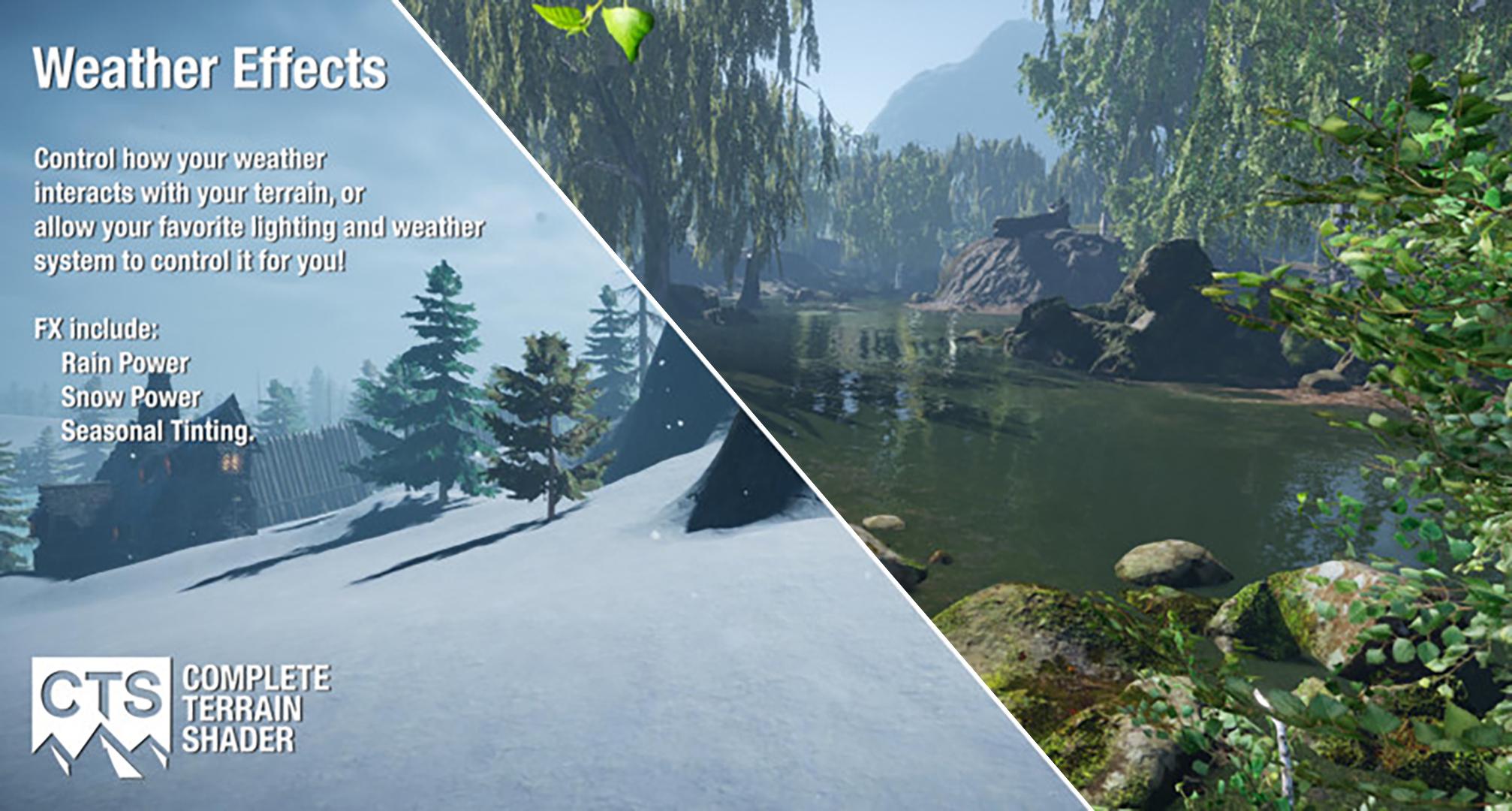 Unity 5 - система ландшафтного шейдинга CTS