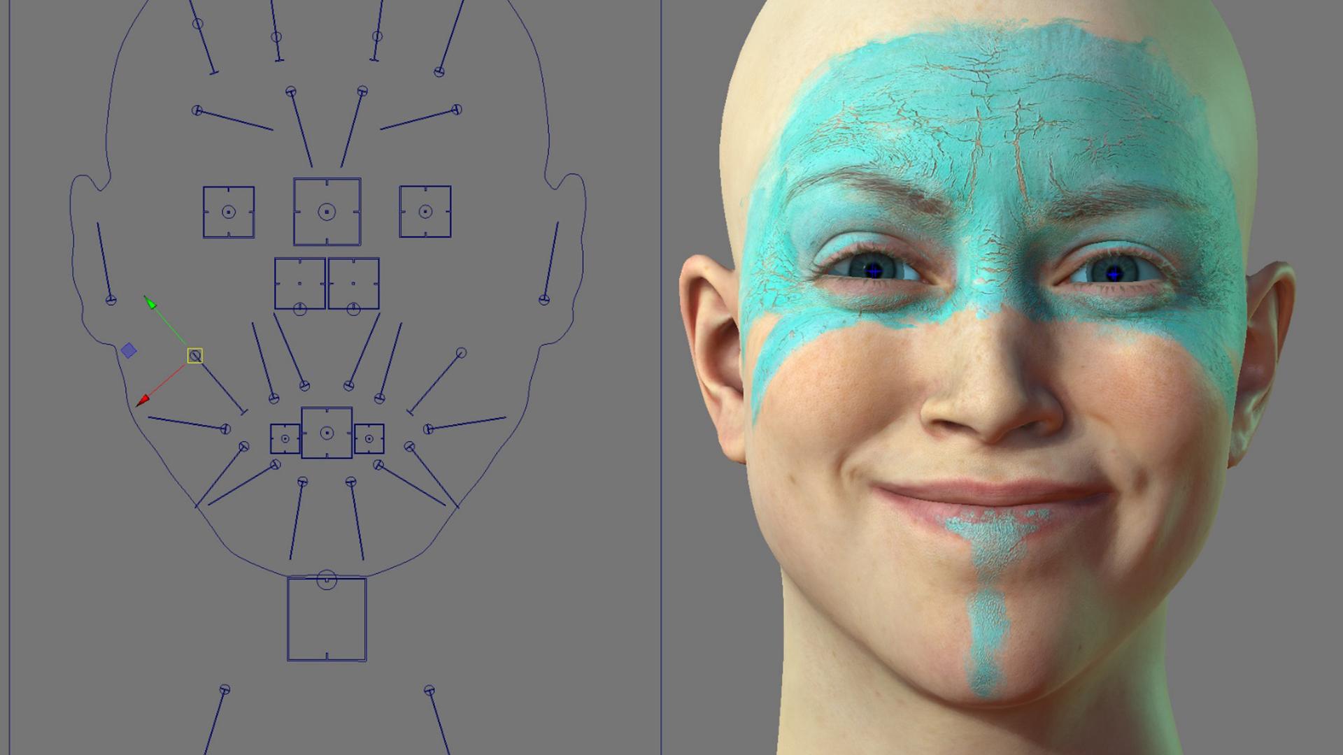 Создание 3D моделей лиц с помощью фото