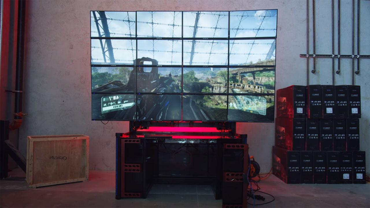 Играем в 16K - целых 16 Asus Predator XB1