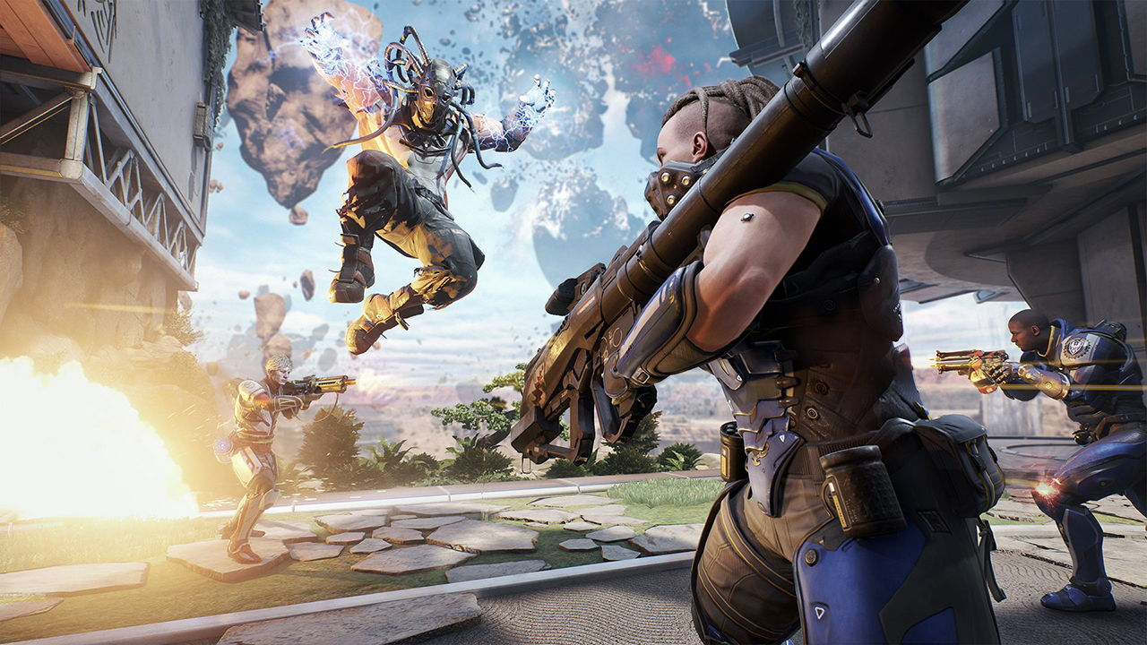 Игра LawBreakers вышла на PS4 с багами