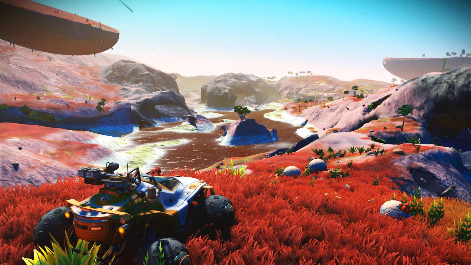 В No Mans Sky завезли восхитительную траву и новые биомы