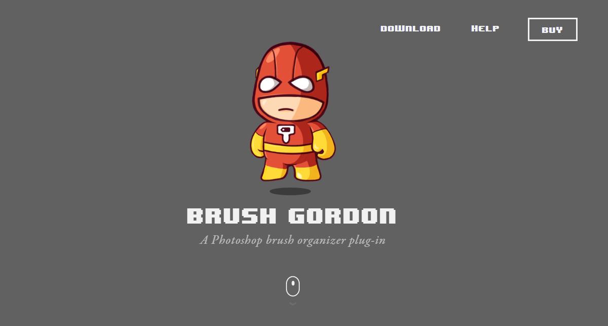 Brush Gordon - Плагин-органайзер для Photoshop