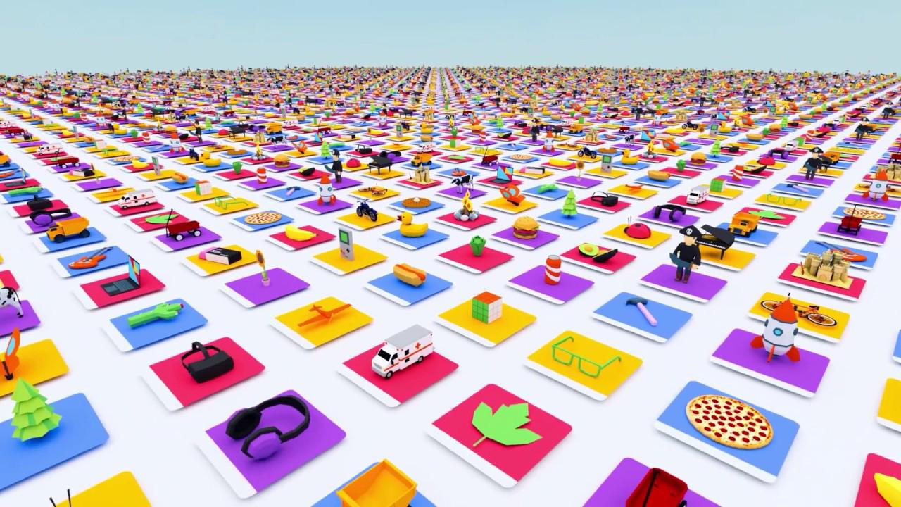 Google анонсировала Poly - библиотеку 3D моделей для VR