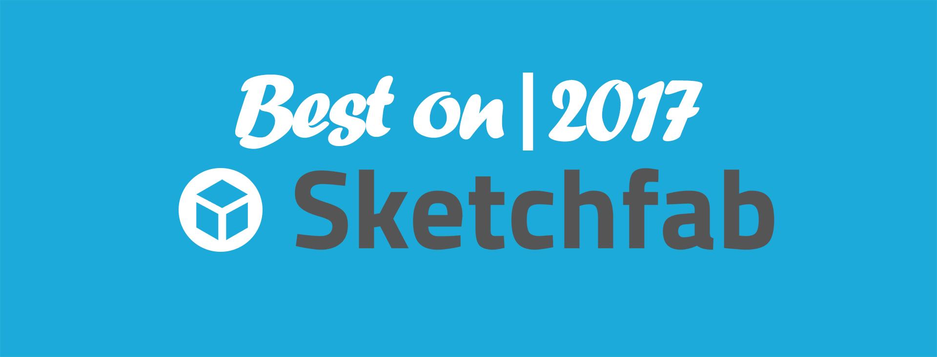 Лучшие работы Sketchfab 2017