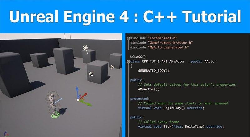 Уроки программирования C++ в Unreal Engine 4