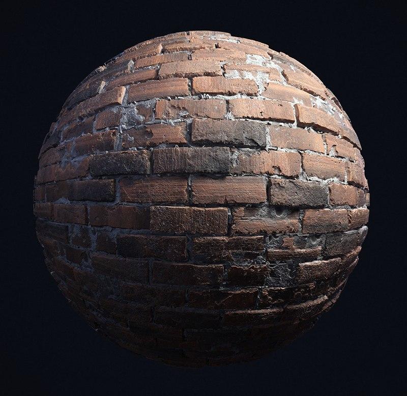 Бесплатный высококачественный материал кирпичной стены