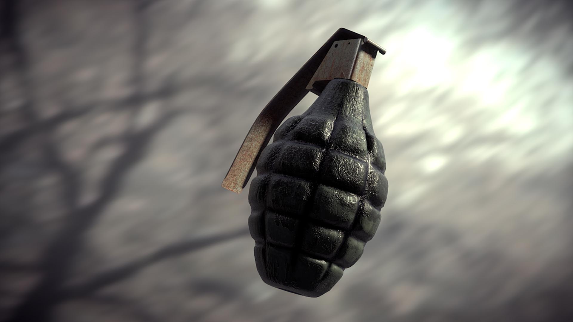Создание реалистичной гранаты в Blender