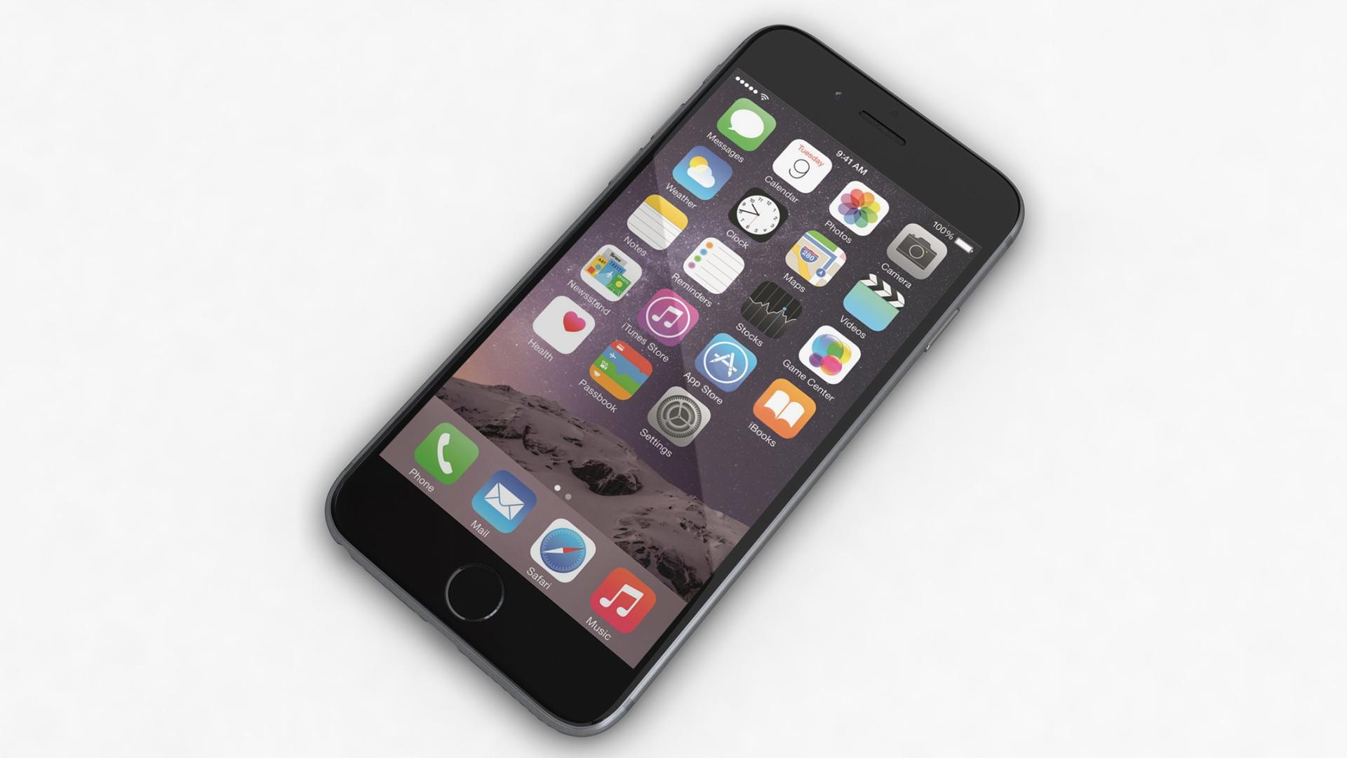 Создание IPhone в Blender