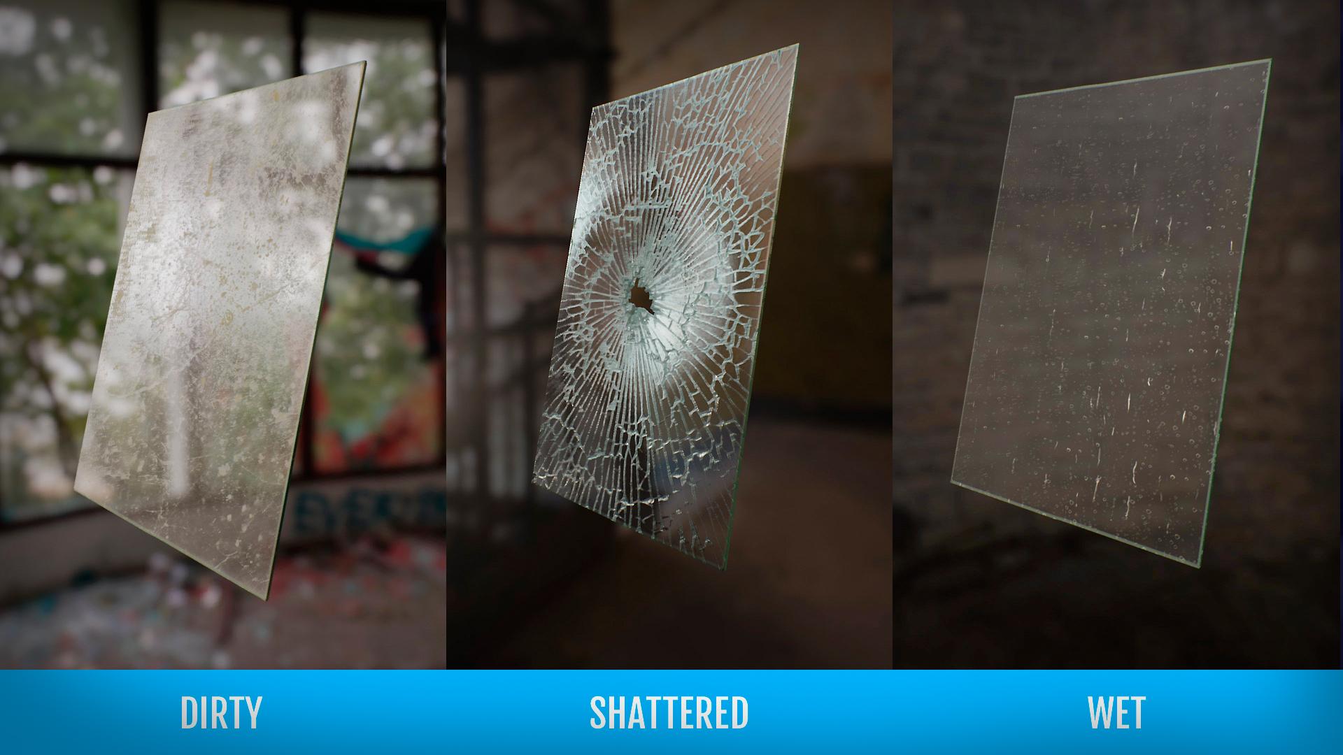 Создание разрушаемого стекла в Unity