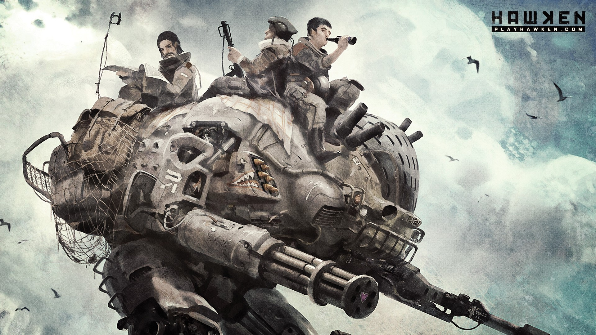 Обзор Hawken PS4 - замечательный free-to-play FPS.