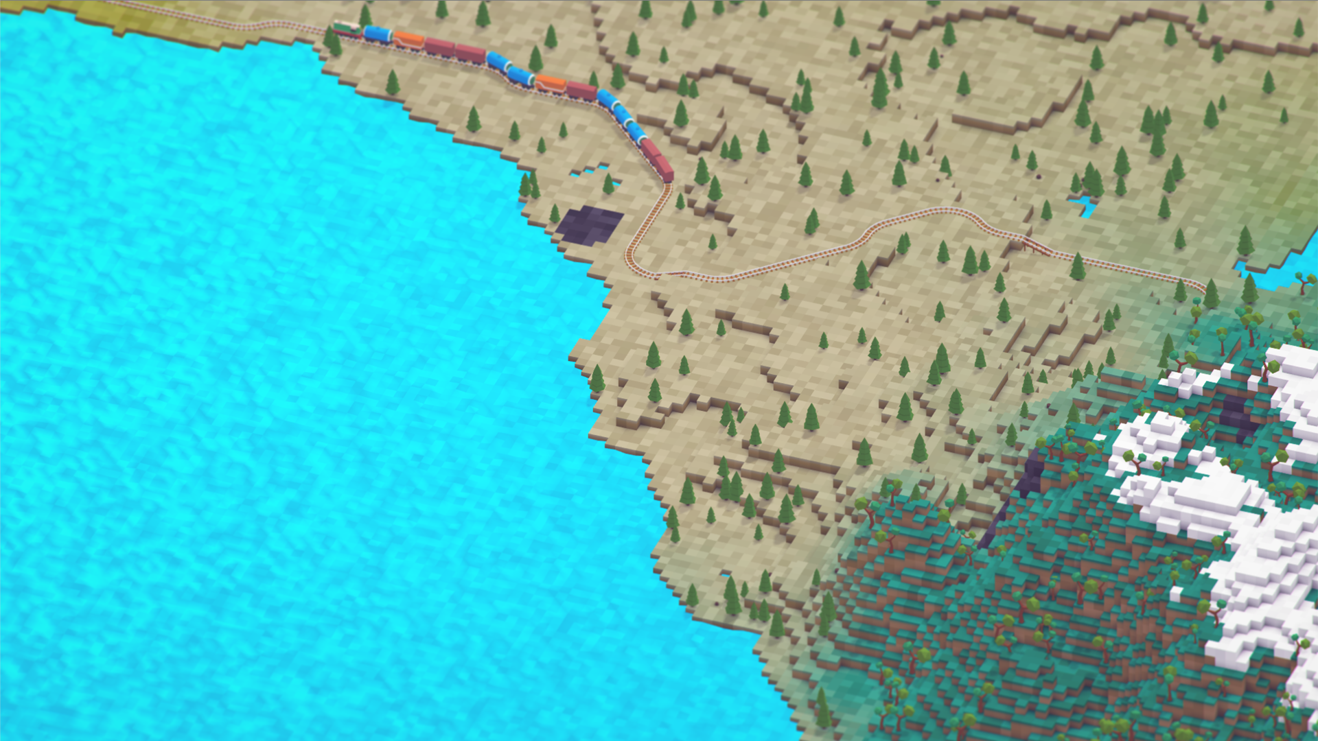 Voxel Tycoon - инди игра от российских разработчиков