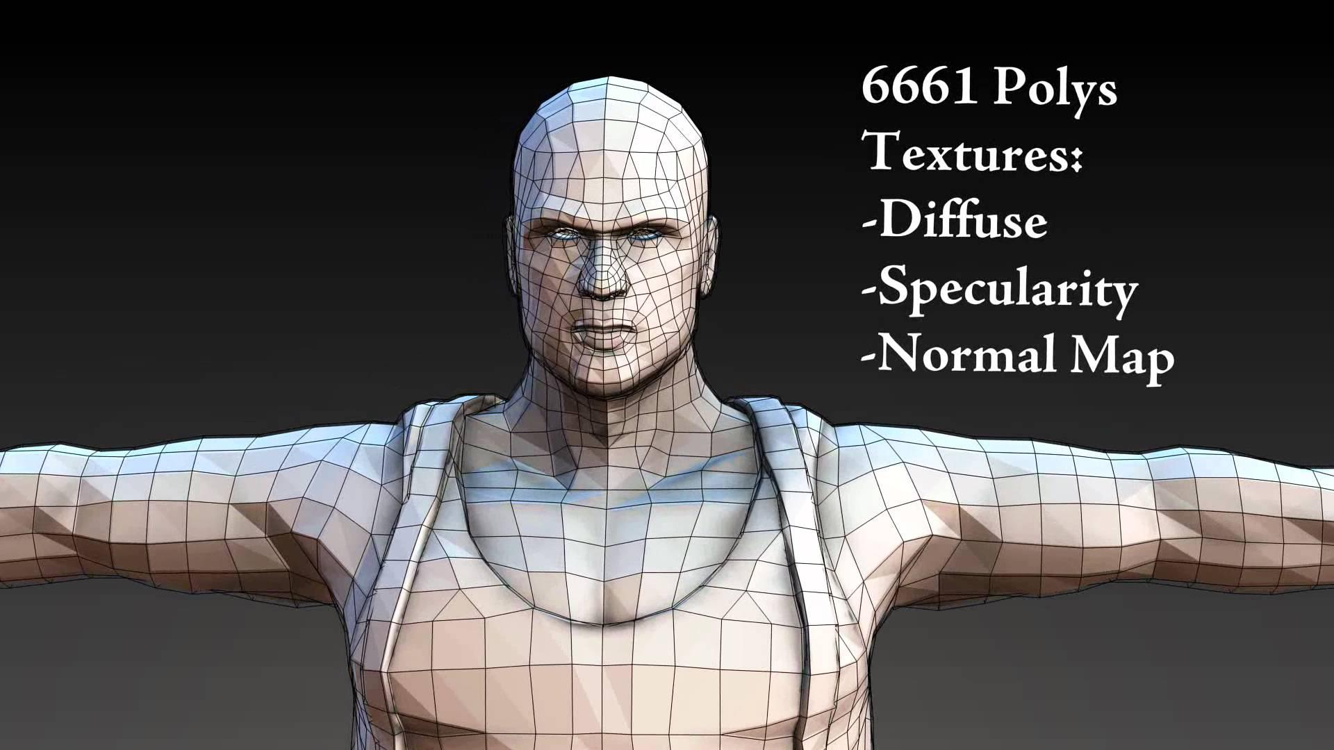 Blender3D - Как создать Low-Poly и Normal карты из High-Poly