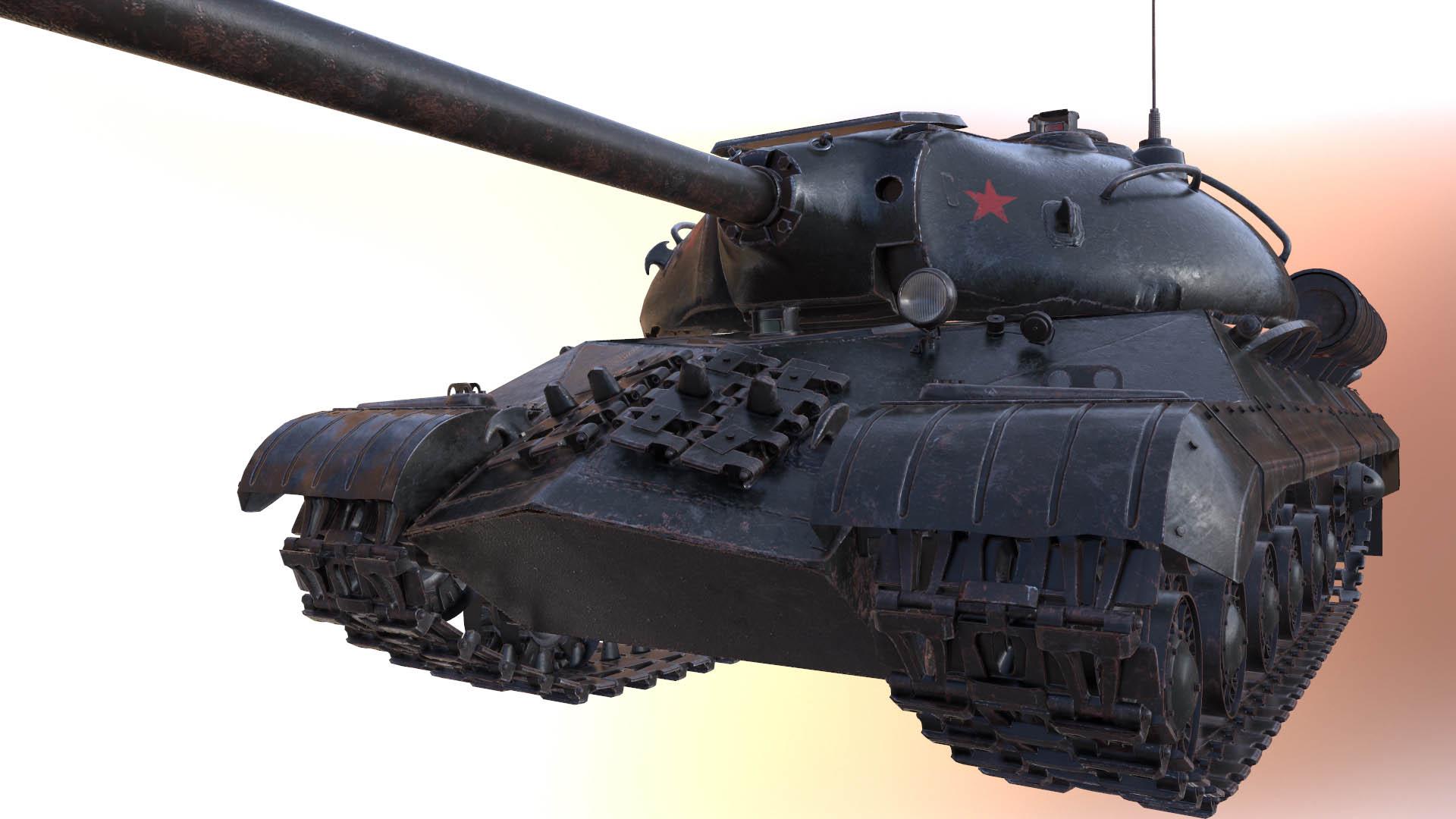 Создание советского танка ИС-3