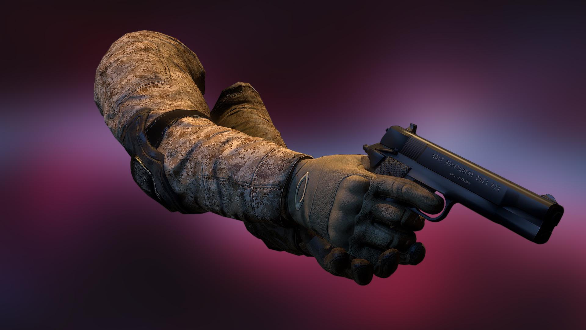 Unity 5 уроки - Риггинг и анимация FPS рук (Часть 1)